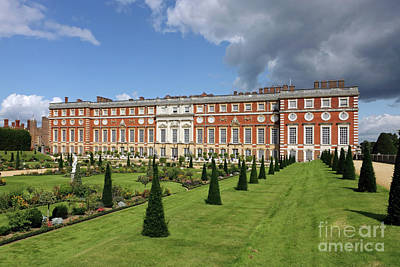 The Privy Garden Hampton Court Art Print