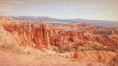 Photograph - The Process Of Sculpting At Bryce Canyon by John M Bailey