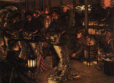 Digital Art - The Prodigal Son In Foreign Climes by James Jacques Joseph Tissot