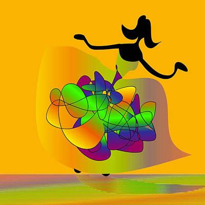 Digital Art - The Prom by Iris Gelbart