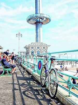 Photograph - The Promenade Brighton Seafront by Dorothy Berry-Lound