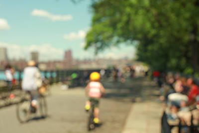 Photograph - The Promenade. Brooklyn Heights, Nyc. by Keith Thomson