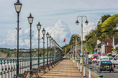 Photograph - The Promenade Penarth by Steve Purnell
