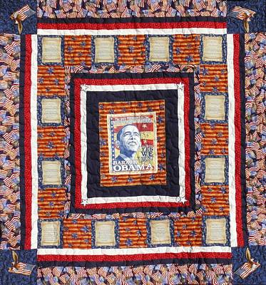 Tapestry - Textile - The Promise - Quilt Sold by Tracie L Hawkins