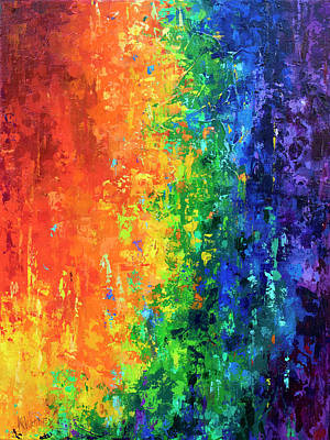 Pride Painting - The Promise by Kristin Whitney