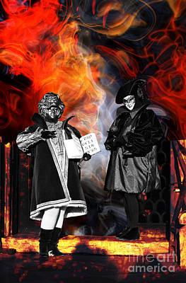 Venezia Digital Art - The Prophecy by John Rizzuto