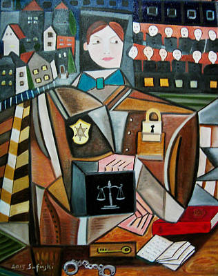 The Prosecutor Original by Karen Serfinski