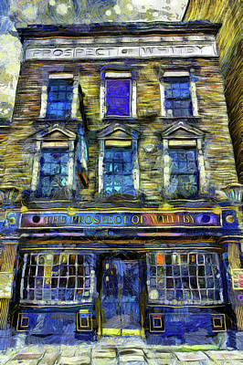 Photograph - The Prospect Of Whitby Pub Art by David Pyatt