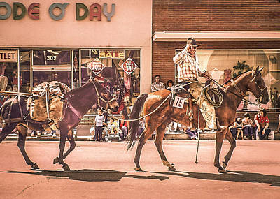 Photograph - The Prospector - Goshen Parade  by Gene Parks