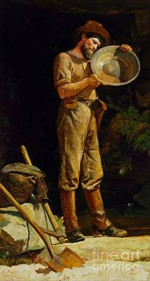 Painting - The Prospector by Reproduction