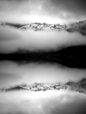 Cloud Like Glass Photograph - The Protection Of Clouds by Tara Turner