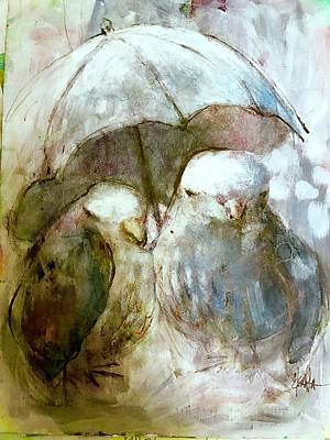 Mixed Media - The Protection Of Friendship by Eleatta Diver
