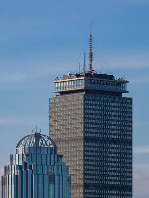 Photograph - The Prudential Building In Boston Massachusetts by Brian MacLean