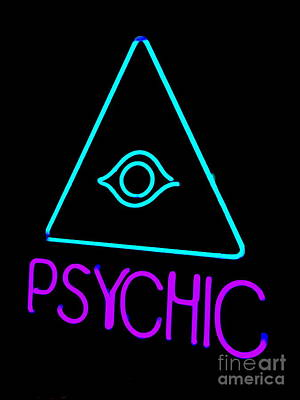 Digital Art - The Psychic by Ed Weidman