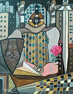 The Public Defender Original by Karen Serfinski