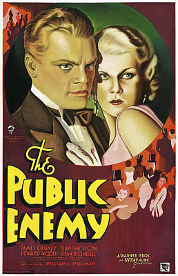 Blockbuster Photograph - The Public Enemy Movie Lobby Promotion  1931 by Daniel Hagerman
