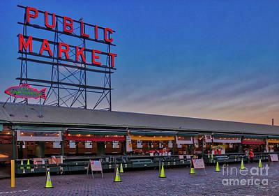 Photograph - The Public Market by Erika Weber