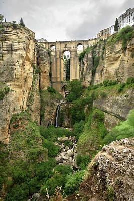 Photograph - The Puente Nuevo Bridge In Ronda by RicardMN Photography