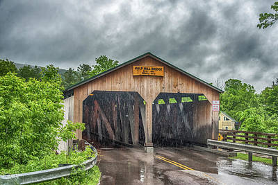 Photograph - The Pulp Mill Bridge by Guy Whiteley