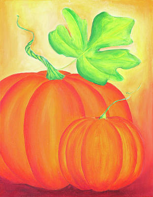 Painting - The Pumpkin Season by Iryna Goodall