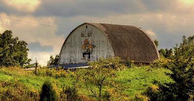 The Purdue Boilermaker Barn Art Print by L O C