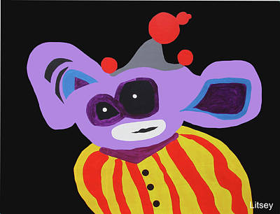 The Purple Clown From Paris Original