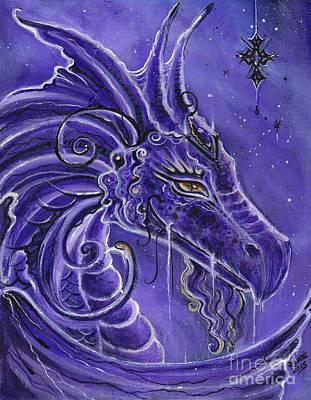 Painting - The Purple Dragon by Renee Lavoie