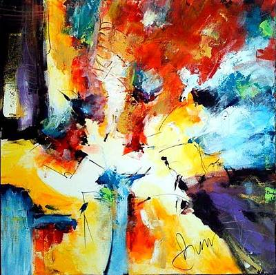Not In Use Painting - The Pursuit Of Happiness 2 by Dan Bunea