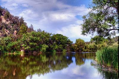 Prescott Photograph - The Quietness Of Natures Blessings by Thomas  Todd