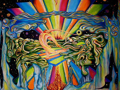The Quantum Awakening Art Print by Ben Christianson