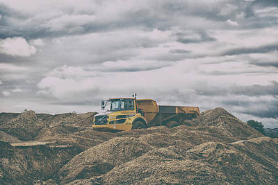 Ore Photograph - The Quarry by Martin Newman