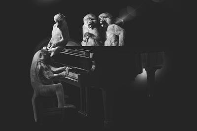 Surreal Digital Art Mixed Media - The Quartet by Pixabay