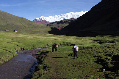 Photograph - The Quechua People Of Peru by Aidan Moran