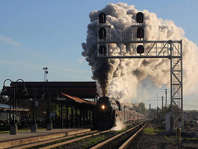 Photograph - The Queen Of Steam 6 by Joseph C Hinson Photography