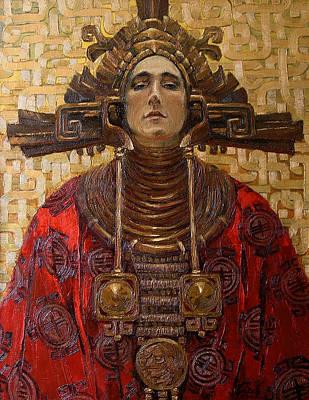 The Queen Of The Sun Art Print by Goryaev Viktor