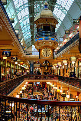 Photograph - The Queen Victoria Building - Qvb - Sydney Australia by David Iori