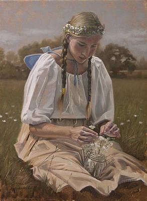 The Queen's Handmaid Original by Michael Wilson
