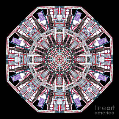 Wall Art - Photograph - The Queen's Mandala by Karen Jordan Allen