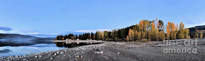 Photograph - The Quiet Fall by Victor K