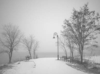 Photograph - The Quiet Moment Before Snow Touches Ground by Tara Turner