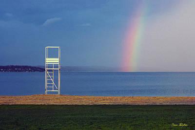 Photograph - The Quiet Season - Lake Geneva Wisconsin by Bruce Thompson