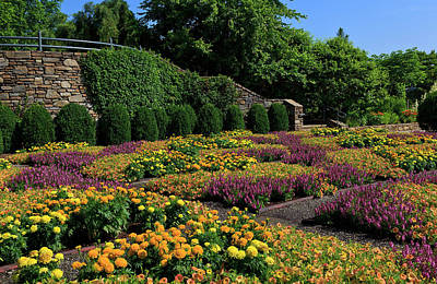 Photograph - The Quilt Garden In Asheville by Jill Lang