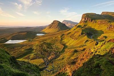 Photograph - The Quiraing In The Light by Stephen Taylor