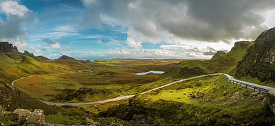 Photograph - The Quiraing Isle Of Skye Scotland by Alex Saunders