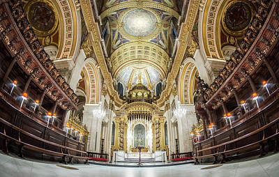 Photograph - The Quire by Stewart Marsden