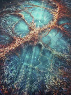 The Racing Heart Of The Crab Nebula Original