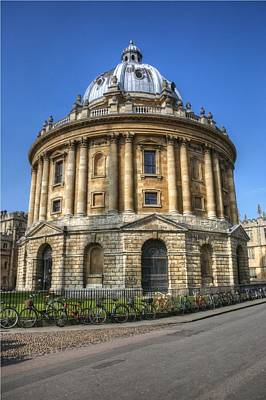 Photograph - The Radcliffe Camera Oxford by Chris Day