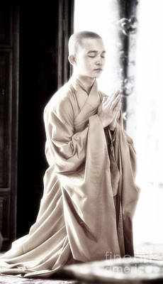Photograph - The Radiant Monk by Cameron Wood