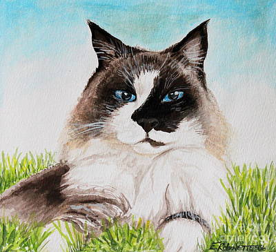 Painting - The Ragdoll by Elizabeth Robinette Tyndall