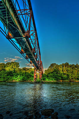 The Rail Bridge Art Print